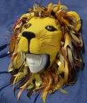 Luna Lovegood Lion Hat #3 by LaurenIsACrazyLlama