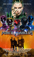 2017 Power Rangers Movie Poster 2 (Fake). by AkiraTheFighter24