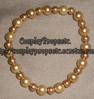 Serenity Bracelet gold pearls by CosplayPropsEtc