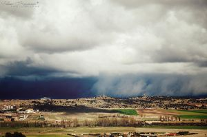 When a cloud becomes rain by LoMiTa