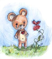 teddy bear by Jump-Button