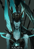 Kalista by Zhyphrus