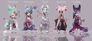 CLOSED|Quarzites Closed Species|AUCTION by Rhe-Adopts