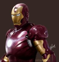 Iron Man Suit by elz-art
