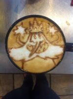 Ice King Latte by Coffee-Katie