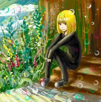 Mello in the sun by MaryIL