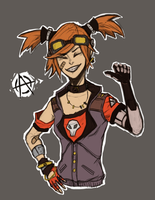 Gaige the Mechromancer by Zaquinni