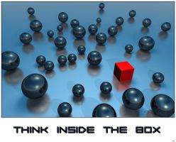 Think in side the Box II by akulla3D