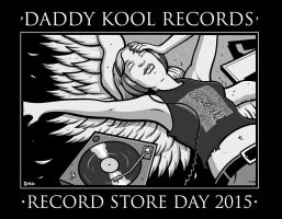 Daddy Kool's Record Store Day 2015 shirt by JasonGoad