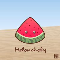 Meloncholy by Sed-rah