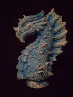 Painted dragon casting by b1938dc