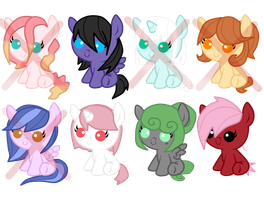 Fillies adoptabled [CLOSED] by HeartRoyali