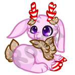[open] Candy Jackalope Adoptable by Romaji