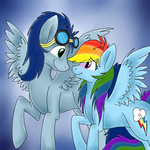 You can stay up here... next to me... by Little-Tamia