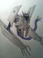 Transformers prime: soundwave by TheReaper111