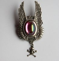 Pink Absinth Brooch by Pinkabsinthe