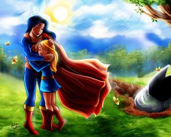 Found Superwoman Supergirl by mistytang by kclcmdr