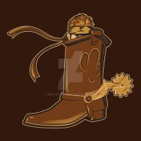 There's a Solid Snake in my Boot! by Moysche