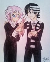 Crona and Kid by Killjoy-Chidori