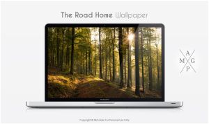 The Road Home Wallpaper by MrFolder