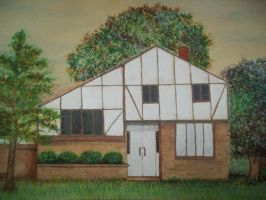 My moms work - Our Old House by Drake09