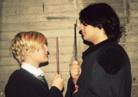 Duel - Draco x Snape by equiclubecastello