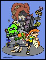 Splatoon - Inkopolis by LawlietRiverRose