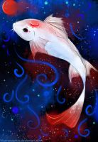koi of the red moon by yoxiru