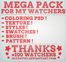Mega Pack For My Watchers ! [CLOSED] by DLovatic1