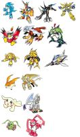 Digimon Adventure RX - Armors by BigBDawg001