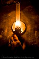 Light in the dungeon by Ilman-Lintu