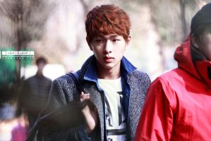 Onew: 130127 KBS 1:100 by waterbirdART