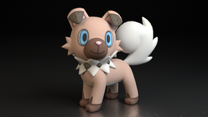 #744. Rockruff by TheAdorableOshawott