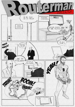 Routerman comic by pbPassy