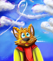 in the clouds by theKatandtheBox