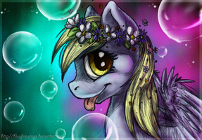 Queen of the bubbles by Bluefirewings