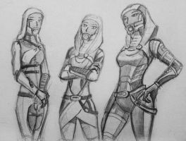 sketches Tali (105) by spaceMAXmarine
