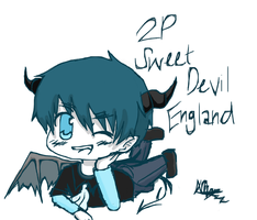 2P Sweet Devil!England by NorthGuam