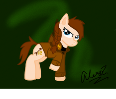 Katniss Pony ~Contest Entry~ by CritterInvasion