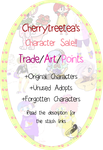 Adopts And Characters Sale UPDATE MORE CHARACTERS! by CherryTreeTea