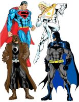 The DC  vs The Wildstorm by coco777