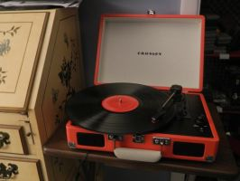 New Record Player by Champineography