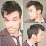 Hair Club For Ten! Tenth Doctor Cosplay by thatOneReallyTallGuy