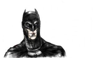 Portrait of a Caped Crusader by KenKreisel