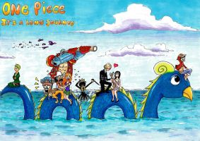 One Piece: It's a Long Journey by prusce