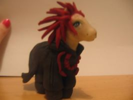 KH- Axel custom pony by sazmullium