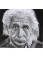Albert Einstein by thekinglion95