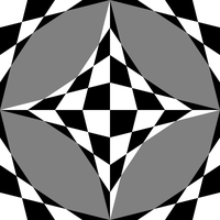 awesome chessboard illusion 4/12/2012 by 10binary
