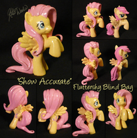Fluttershy Blind Bag Custom by Auswren