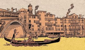 Postcard from Venice by mourri